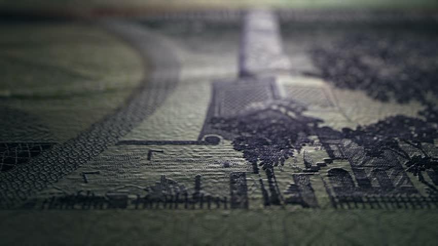 10 Iraqi Dinar 1982 Reverse Close Up Macro