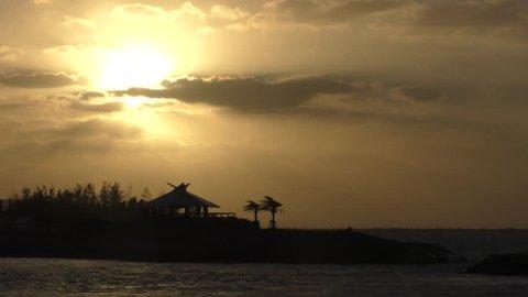 Sunset of Okinawa Naha Umisora Park 12.mov