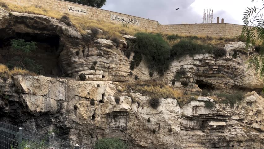 Golgotha The Place Of Calvary Stock Footage Video 100