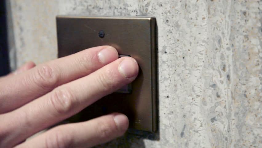 Door bell fingers, handshoot | Shutterstock HD Video #1017360499