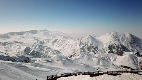 Palandoken Mountains and Erzurum