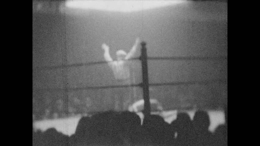 1920s: United States: Boxing Match Stock Footage Video (100% Royalty-free)  1017576649 | Shutterstock