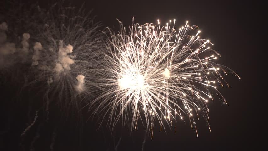 Firework display evening p3 4k | Shutterstock HD Video #1017849529