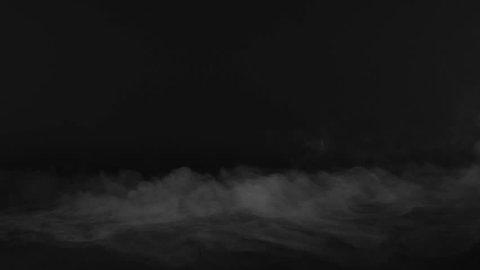 Ground Fog Rolling Smoke Cloud Effect