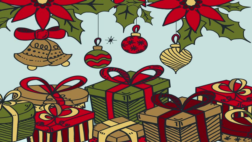 Christmas decoration background  | Shutterstock HD Video #1018168549
