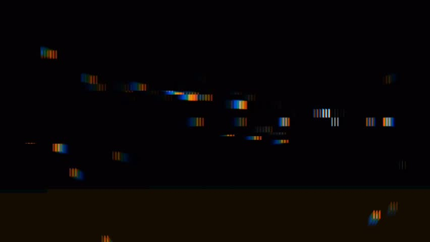 Abstract digital glitch art effect. Retro futurism wave style. Video signal damage with noise and interference | Shutterstock HD Video #1018200199