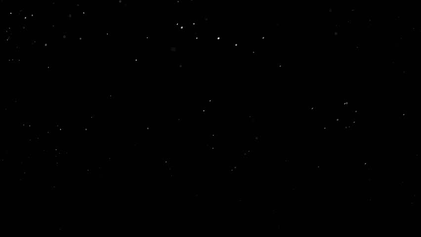 Floating particles on black background. Slow motion. | Shutterstock HD Video #1018218739