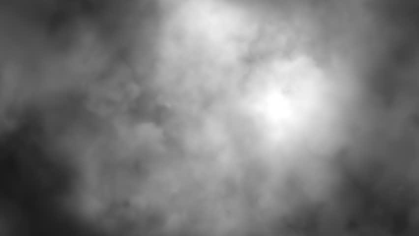 Heavy fog timelapse.