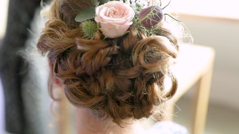 Bridal Updo Stock Video Footage - 4K and HD Video Clips  e507c59ec