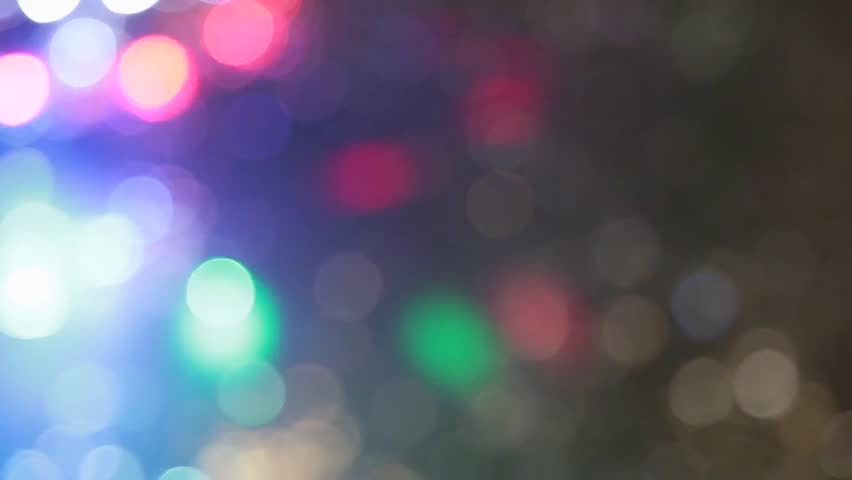 Abstract Blur With Blinking Bokeh Bright Party Lights Glitter Defocused Background