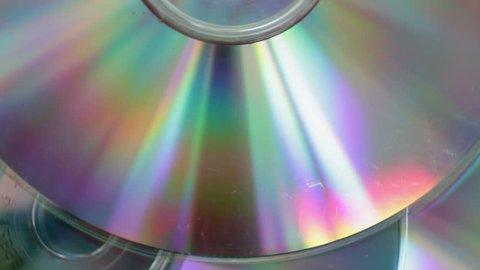 Compact CD rotating