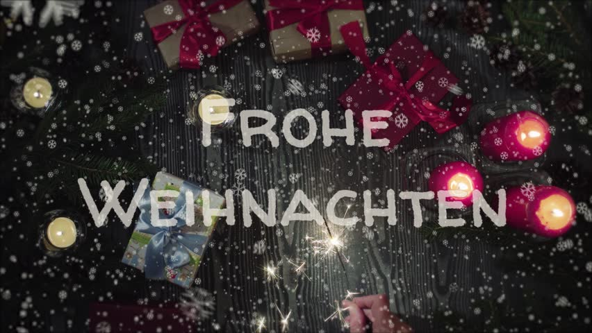 Animation Frohe Weihnachten.Animation Frohe Weihnachten Merry Stock Footage Video 100 Royalty Free 1019334499 Shutterstock