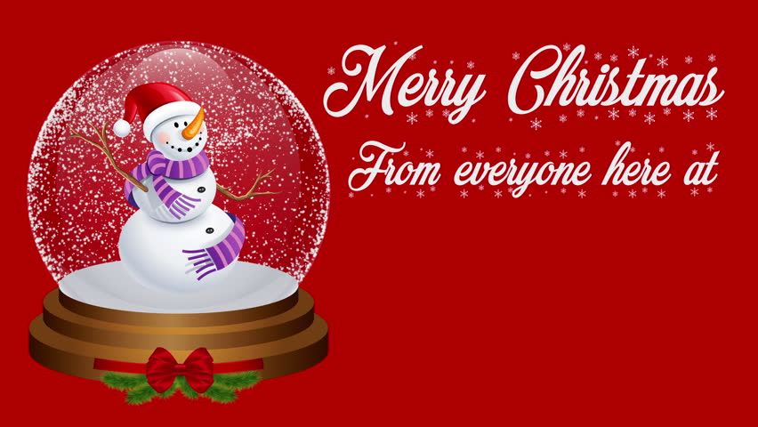 A Merry Christmas welcoming display for shops, hotels, businesses and advertising.