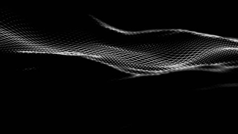 Abstract 3d rendering of seamless looped animation. Modern background design, 4k video