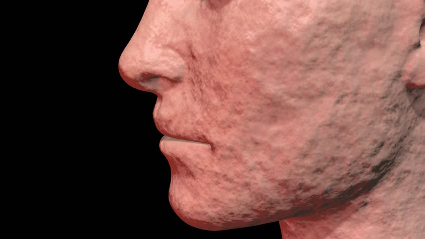 Skin Problems : Anti aging, rejuvenation, chemical peel removes old skin cells revealing new young smooth surface. 3d animation | Shutterstock HD Video #1020525019