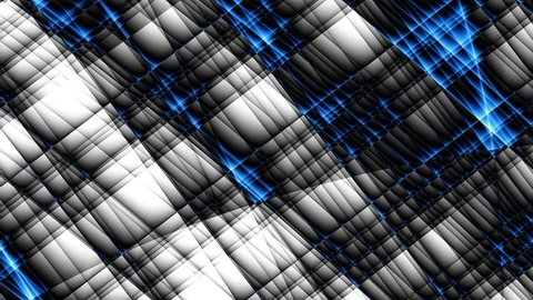 Transforming abstract futuristic background. Animated looping footage.