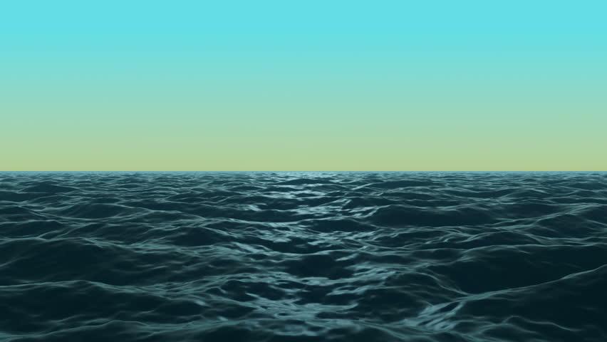 Ocean Evening Waves Loop - Stock Footage Video (100% Royalty-free) 10214789  | Shutterstock