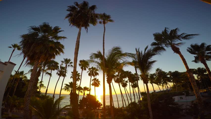 Mexico. The Peninsula Of California. The Coast Of La Paz. | Shutterstock HD Video #1021685899