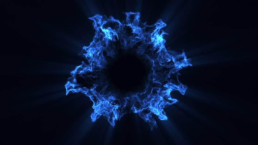 10 Blue Particles Shockwaves Overlay Graphic Elements | Shutterstock HD Video #1022656969