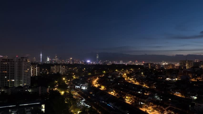 Sunrise in Kuala Lumpur | Shutterstock HD Video #1022680789