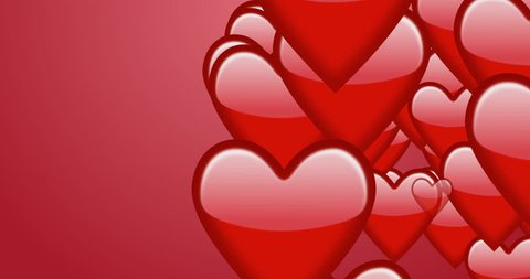 Transition pack  saint valentine day animation with alpha