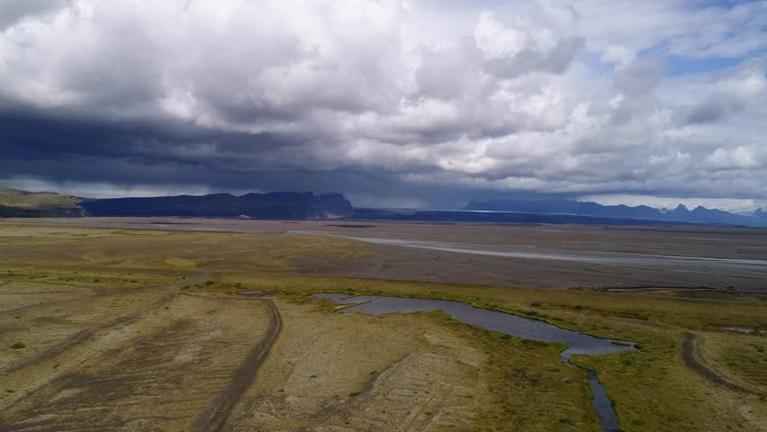 Landscapes of Iceland taken with drone | Shutterstock HD Video #1022844379