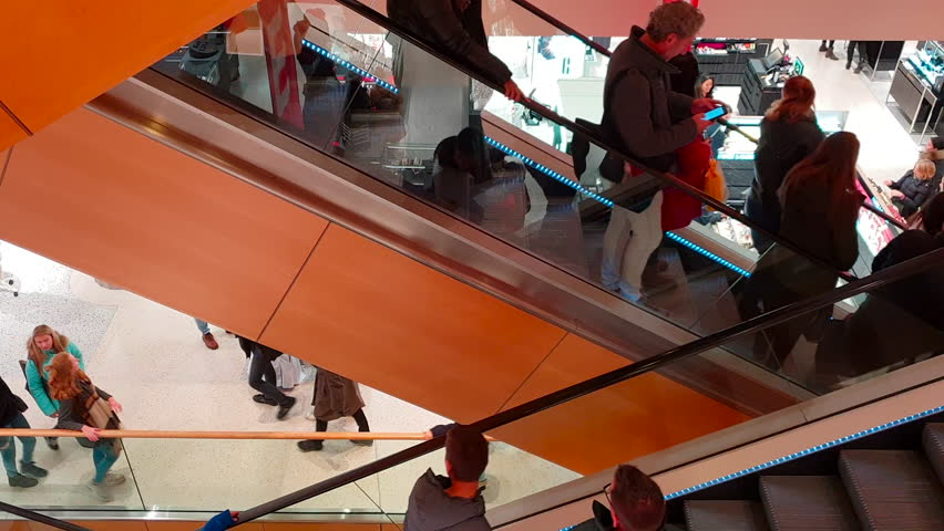 Amsterdam, January 2019  Escalators with Stock Footage Video (100%  Royalty-free) 1022985349 | Shutterstock