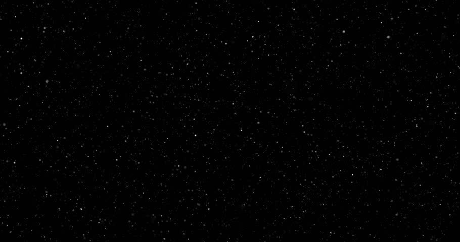 Snowfall on a black background #1023352159