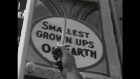 CIRCA 1940s - Coney Island is shown in 1940.