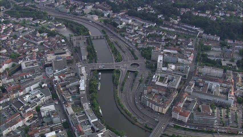 AERIAL Germany-Saarbrucken 2007 | Shutterstock HD Video #10237949
