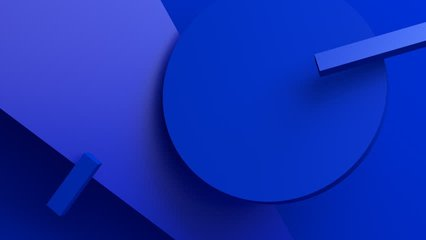 Abstract 3d rendering, background with moving geometric shapes. Modern animation, motion design, 4k seamless looped video