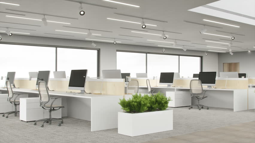 Modern Office Space #1023869269