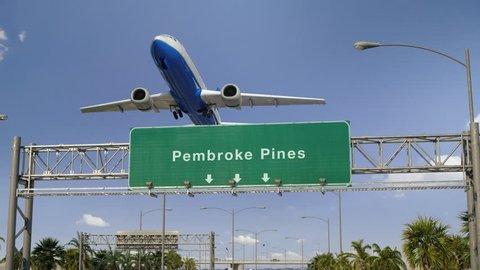 Airplane Take off Pembroke Pines