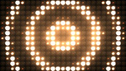 Lights Flashing Board Circle 4K VJ Stage Blinking Lights Blinder Flashlights Disco Lights Floodlight Loop