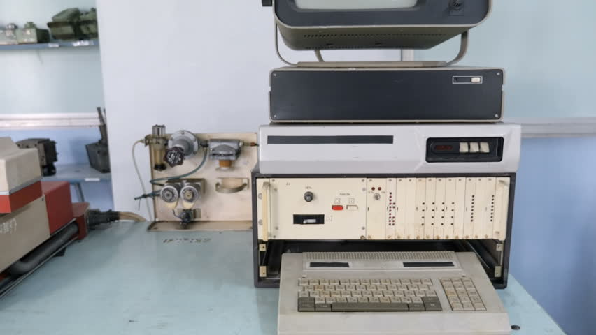 Old Computer Keyboard | Shutterstock HD Video #1024418339