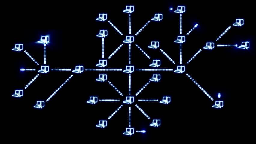 Growing computer network   Shutterstock HD Video #1024594