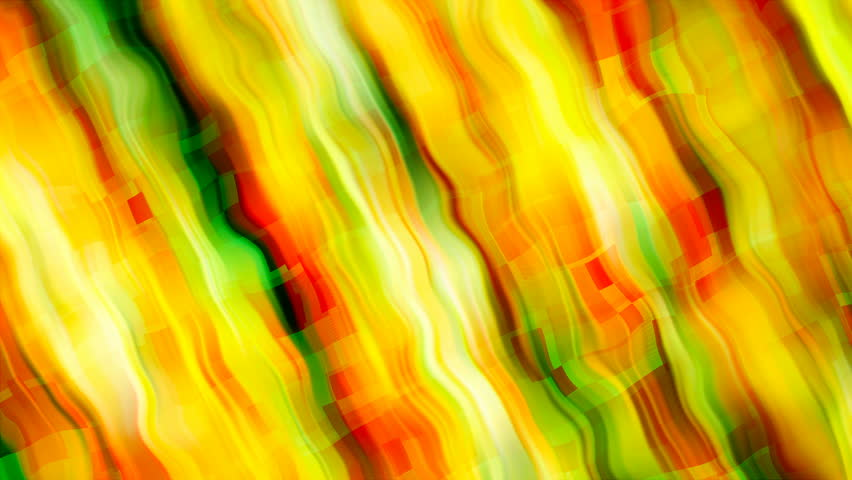 Abstract bright yellow stripes are in space - abstraction of distortion of space, computer generated background, 3D rendering #1024837469