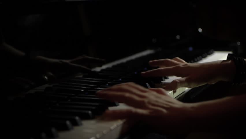 Female Pianist Hands Playing Piano Stock Footage Video (100% Royalty-free)  1025104109 | Shutterstock