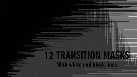 Abstract CGI motion graphics and animated background with white and black lines and dots. 4K Transition masks templates. See more  in my portfolio