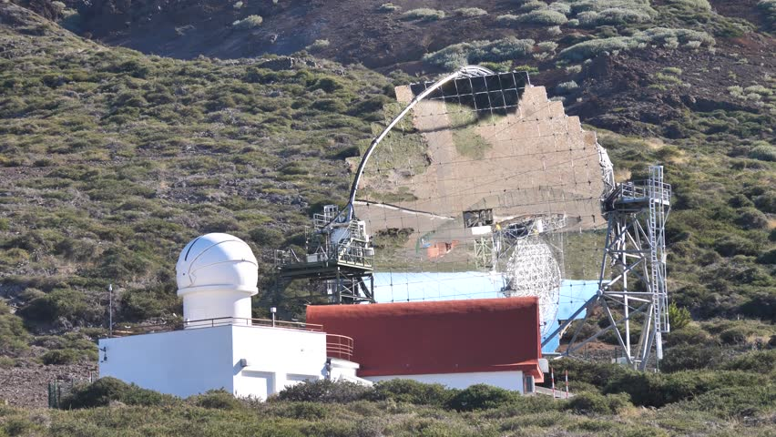 The MAGIC Atmospheric Gamma Imaging Telescope, La Palma, Canary Islands #1025376089