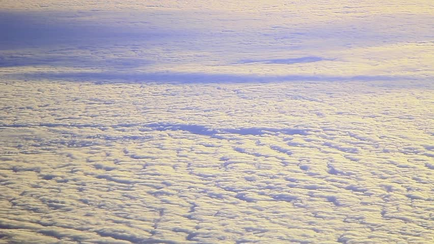 Glitch effect. Above the clouds | Shutterstock HD Video #1025471249
