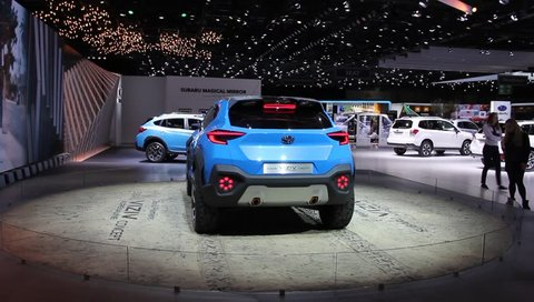 Switzerland; Geneva; March 12, 2019; Subaru Viziv Adrenalin Concept; the 89th International Motor Show in Geneva from 7th to 17th of March, 2019.