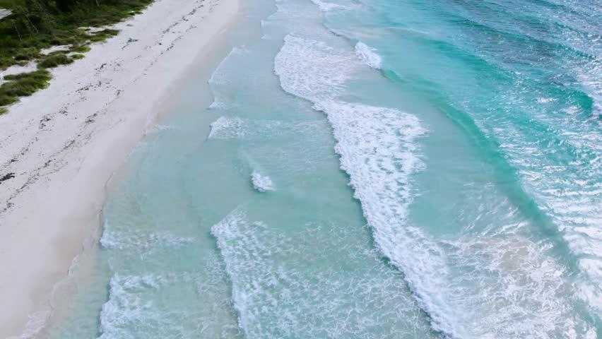 The Diamond Of Bahama Beach Freeport | Shutterstock HD Video #1025933819