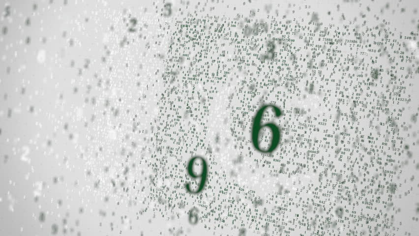 Falling numbers make up flag of PAKISTAN. National information technology IT related 3D animation | Shutterstock HD Video #1025968949