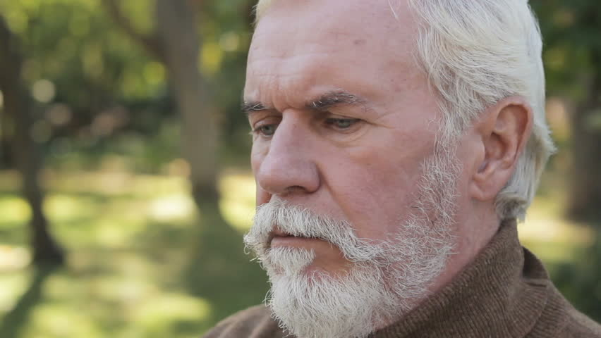 Depressed elderly male. clinical depression in Older Adults, depressive disorder #1026247679