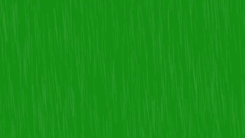Green screen rain effect for movie video clip or project. Its heavy rainy effect.