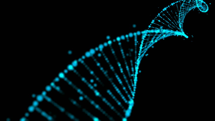 Rotating Particle Gene Chain | Shutterstock HD Video #1027348529