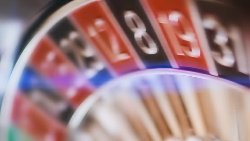 Casino roulette wheel spinning closeup  | Shutterstock HD Video #1027525169