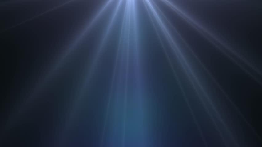 White light rays, burst on black background. Dark blue shinny magical flare, blue sunlight, shiny lens light. | Shutterstock HD Video #1027690049