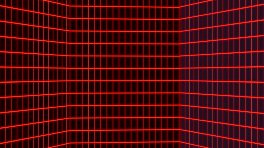 Vertical Red Retro-futuristic 80s Synthwave Stock Footage Video (100%  Royalty-free) 1027704329 | Shutterstock